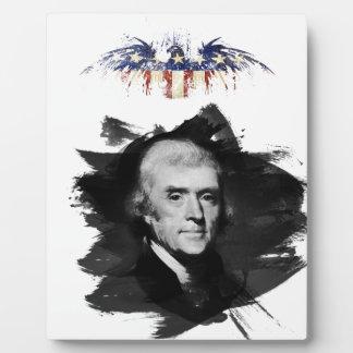 Thomas Jefferson Fotoplatte