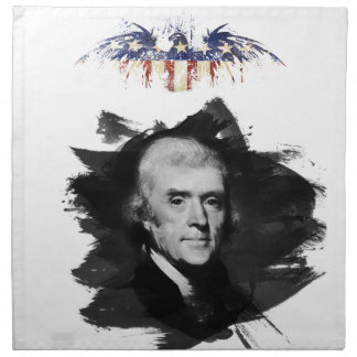 Thomas Jefferson Stoffserviette