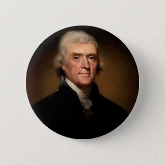 Thomas- JeffersonButton Runder Button 5,1 Cm