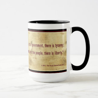 Thomas- Jeffersonkaffee-Tasse Tasse