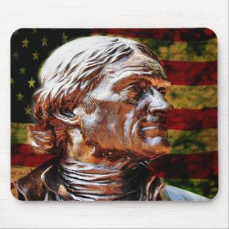 Thomas- Jeffersonstatue-Mausunterlage Mousepad