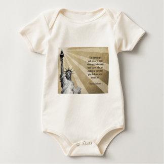 Thomas- Jeffersonzitat Baby Strampler