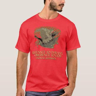 Thomas- Jeffersonzitat:  Widerstand zur Tyrannei T-Shirt