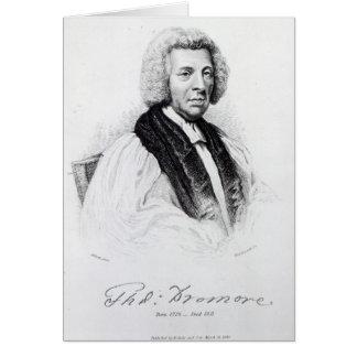 Thomas Percy, Bischof von Dromore Grußkarte