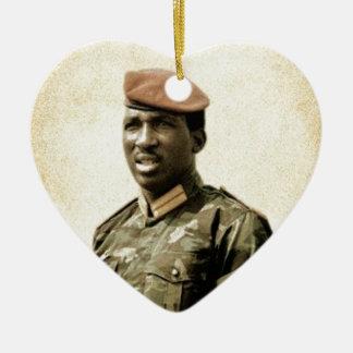 Thomas Sankara - Burkina Faso - afrikanischer Keramik Ornament