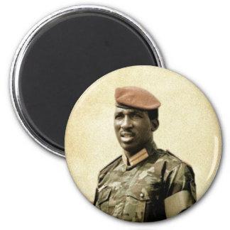 Thomas Sankara - Burkina Faso - afrikanischer Runder Magnet 5,7 Cm