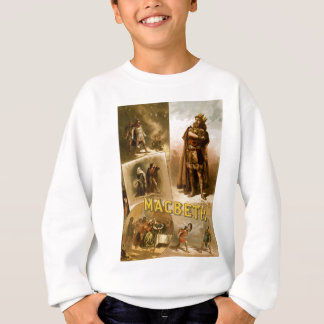 Thomas W. Keene in William Shakespeares Macbeth Sweatshirt