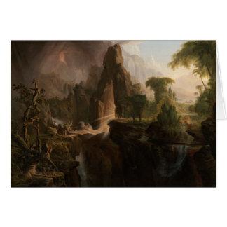ThomasCole - Entfernung vom Garten Eden Karte
