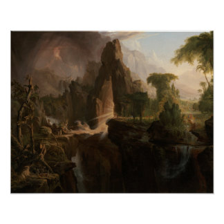 ThomasCole - Entfernung vom Garten Eden Poster