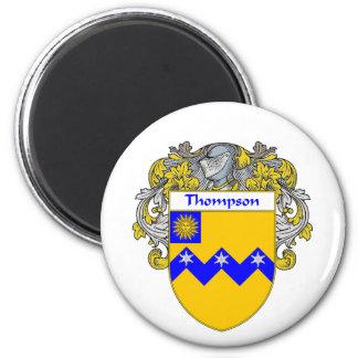 Thompson-Wappen (überzogen) Runder Magnet 5,1 Cm