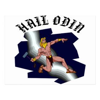 Thor-Hagel Odin Postkarte