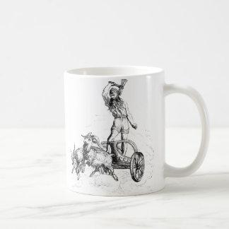 Thor in seinem Chariot Kaffeetasse