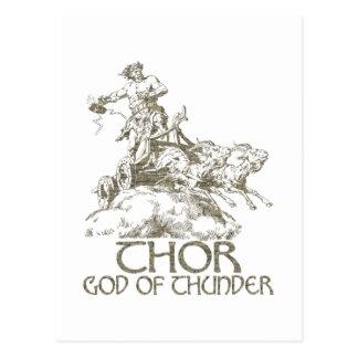 Thor Postkarte