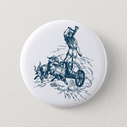 Thor Runder Button 5,1 Cm