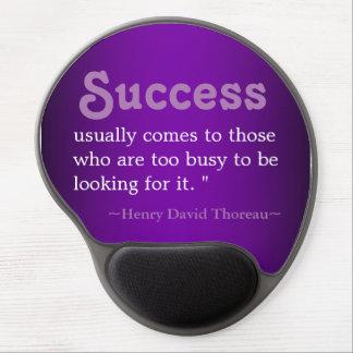 Thoreau Zitat-Inspirierend Gel Mousepad