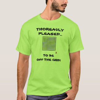 THOREAULY GEFALLEN… ZU WEG VOM GITTER SEIN! T-Shirt