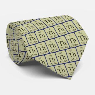 Thorium-der Krawatte des Element-90 transparente
