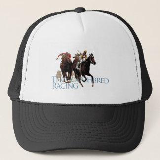Thoroughbred-Pferderennen-Geschenke Truckerkappe