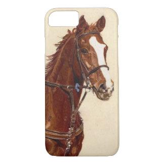 Thoroughbred-PferdiPhone 7 Fall kaum dort Fall iPhone 8/7 Hülle
