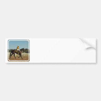 Thoroughbred-Rennen-PferdeAutoaufkleber Autoaufkleber
