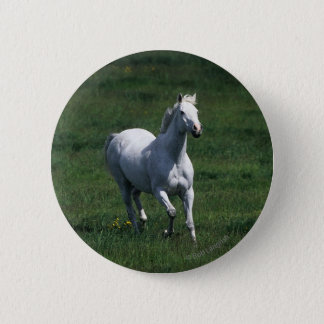 Thoroughbred-Stute Runder Button 5,7 Cm