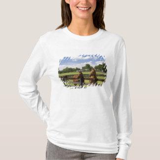 Thoroughbredpferdebauernhof in Marion County, T-Shirt