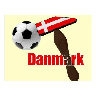 Thors-Hammer Danmark Dynamit Fodbold 2014 Postkarte