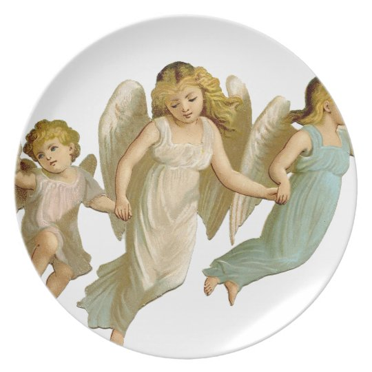 Three angels melaminteller