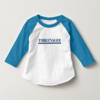 Threenager Kleinkind-Shirt T-Shirt