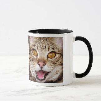 Thron-Lächeln-Kaffee-Tasse Tasse