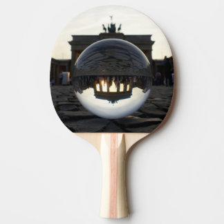 Through the crystal ball, Brandenburg Gate Tischtennis Schläger