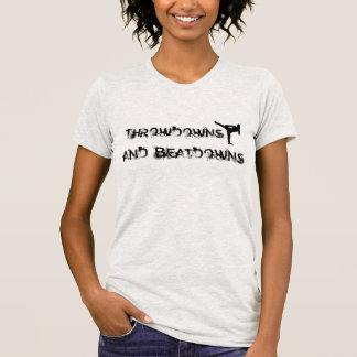 Throwdowns und Beatdowns T-Shirt