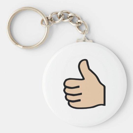 thumbs up schlüsselanhänger