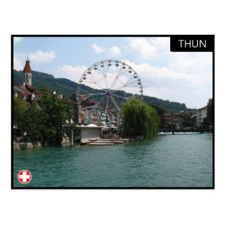 Thun - die Schweiz-Postkarte Postkarte