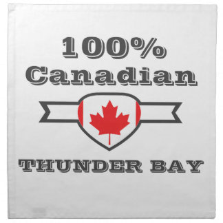 Thunder Bay 100% Serviette