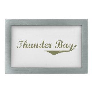 Thunder Bay Rechteckige Gürtelschnallen
