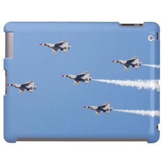 Thunderbirds F-16, welche die Fünfkarte Bildung iPad Hülle