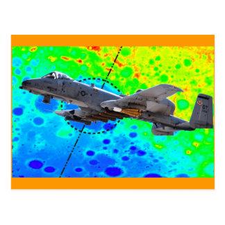 Thunderbolt A-10 Postkarte