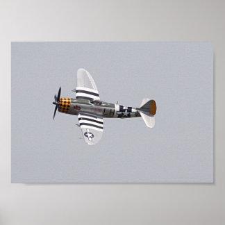 Thunderbolt P-47 Poster