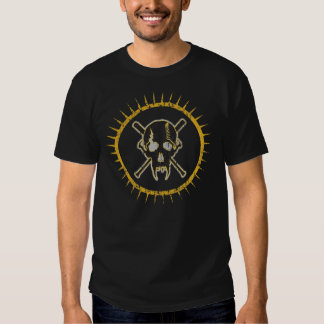 ThunderDogs Schädellogo w/spkikes T-shirt