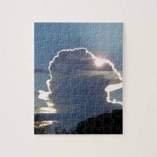 thunderhead Wolke blockiert die Sonne Puzzle