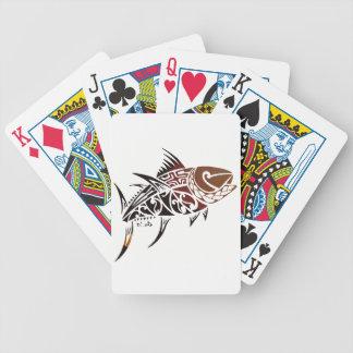 Thunfisch Bicycle Spielkarten
