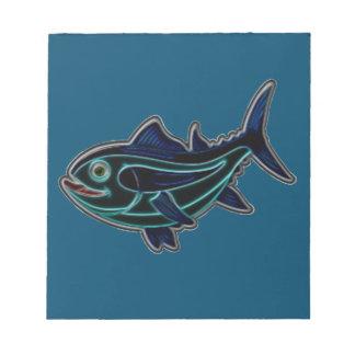 Thunfisch Notizblock