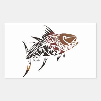 Thunfisch Rechteckiger Aufkleber
