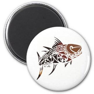 Thunfisch Runder Magnet 5,7 Cm