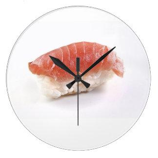 Thunfisch-Sushi-Wanduhr, japanisches Große Wanduhr