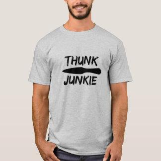Thunk Junkie grundlegendes (b) T-Shirt