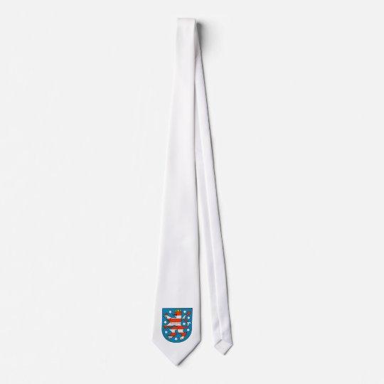 Thüringen Wappen Individuelle Krawatte