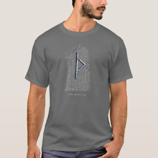 Thurisaz Rune, das Symbol des Thors auf OstRok T-Shirt