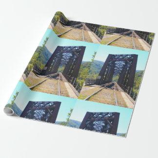 Thurmond West Virginia Zug-Brücke Geschenkpapier